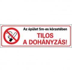 permetezni tilos a dohányzás)